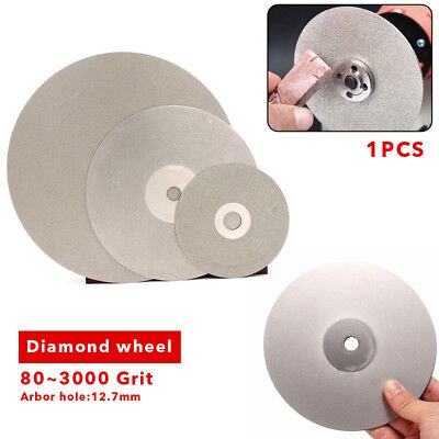 100//150mm Diamond Coated Flat Lap Wheel Ceramic Glass Grinding Discs 36-3000GRIT