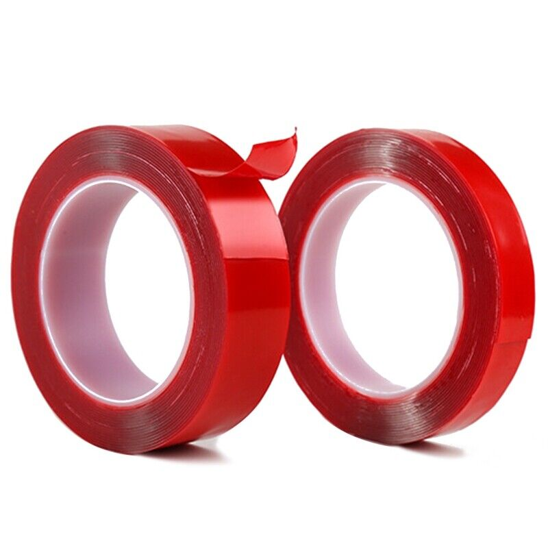 Strong Double-sided Clear Transparent Acrylic Wall Hangings Adhesive Tape Nice 2