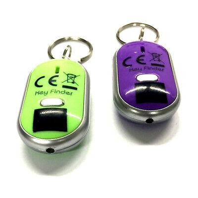 Key Finder Schlüsselanhänger Schlüsselsucher 2x Schlüsselfinder Led-lampe
