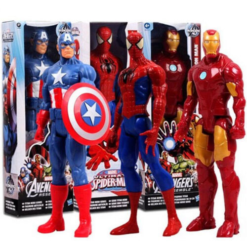 The Avengers Marvel Superheld Spiderman Deadpool Action Figur Figuren Kinder Toy 7
