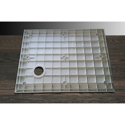Piatto doccia ultra slim in resina design struttura rinforzata h 3.5 cm