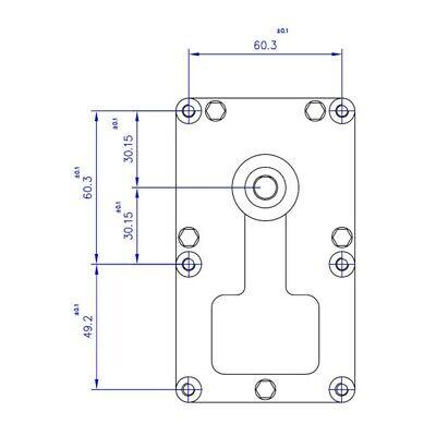Motoriduttore Stufa a pellet, 1 rpm perno diam. 9,5 mm mellor, THERMOROSSI 3