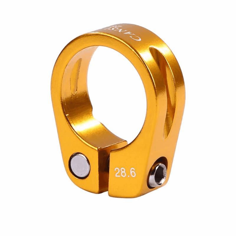 31.8mm Vélo Tige de selle en alliage d/'aluminium Collier Serrage Siège VTT MTB