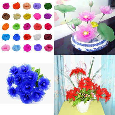 5Pcs 2.3M Nylon Stocking For Making Artificial Mesh Flower Arrangement Stamen 4