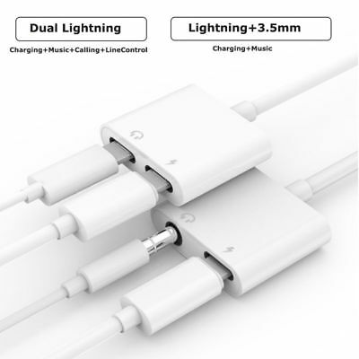 3.5mm AUX Headphone Jack Adapter Cable iPhone Xs X 8 7 11 Pro Lightning to Audio 2