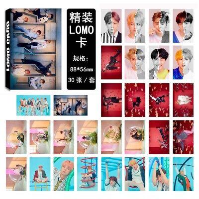 Lot of /set KPOP Bangtan Boys Collective Album Posters Photo Card Lomo card 2