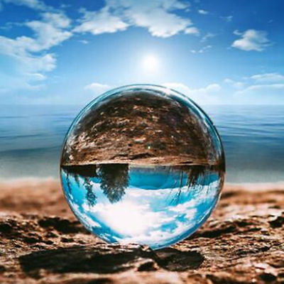 40-100mm Clear Glass Crystal Ball Healing Sphere Photography Photo Ball Gifts 3