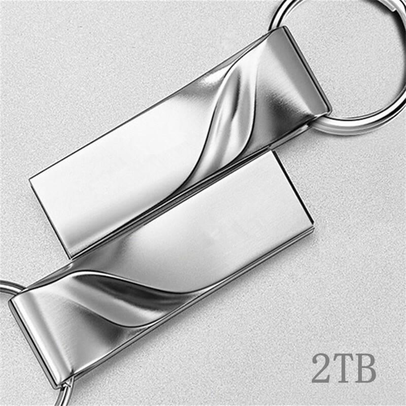 USB 2.0 2TB Flash Drives Memory Metal Flash Drives Pen Drive U Disk PC Laptop CA
