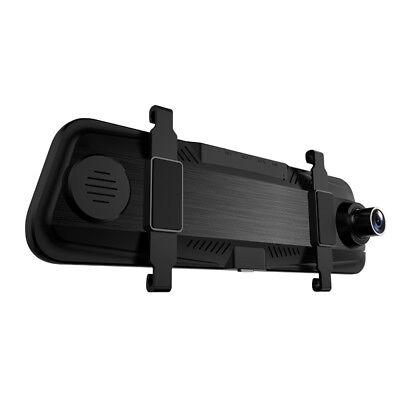 "AZDOME 10"" HD 1080P Dual Lens Car Dash Cam Recorder Mirror Touching Night Vision 11"