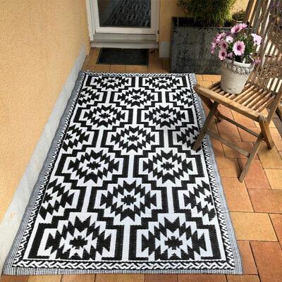 Esschert Design Outdoor Teppich Wetterfest Außenbereich Garten Balkon Terrasse