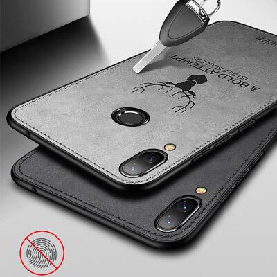 For Huawei Nova 3i/3E P20 Lite/Pro Hybrid Soft TPU Leather Case Matte Back Cover