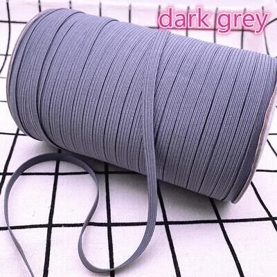 5yds 6mm Hight Elastic Bands Spool Sewing Band Flat Elastic Cord diy Sewmaterial 10
