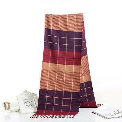20 scarves discount pashmina men unisex plaid checked wholesale shawls 8