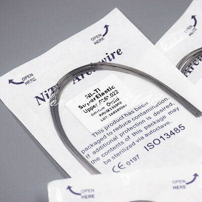 10Pcs Dental Orthodontic NITI Super Elastic Rectangular Arch Wire Ovoid All Size 5