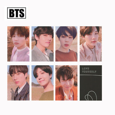 KPOP Album 2019 5th Muster Love Yourself World Tour WORLD OST PhotoCard 3