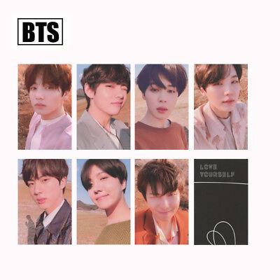 KPOP Bangtan Boys Album MAP OF THE SOUL PERSONA Boy with Luv Photo Card 6