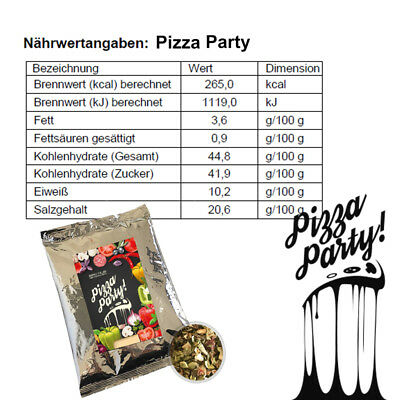 Magic Dust Grill Gewürz Pizza Party Pasta mediterran Italienische Würzmischung 7