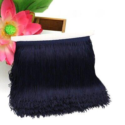 6 inch 10 Yards Chainette Fringe Lace Trim Ribbon Polyerter Tassel Fibre DIY Hot