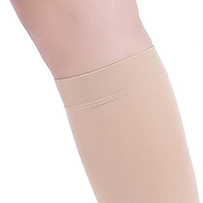 20-30 mmHg Medical Calf Compression Sleeve Socks Support Stockings Travel Flight 8