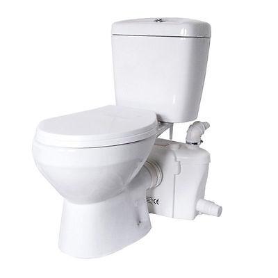 Ceramic Bathroom Toilet White With Comfortable Pan Seat