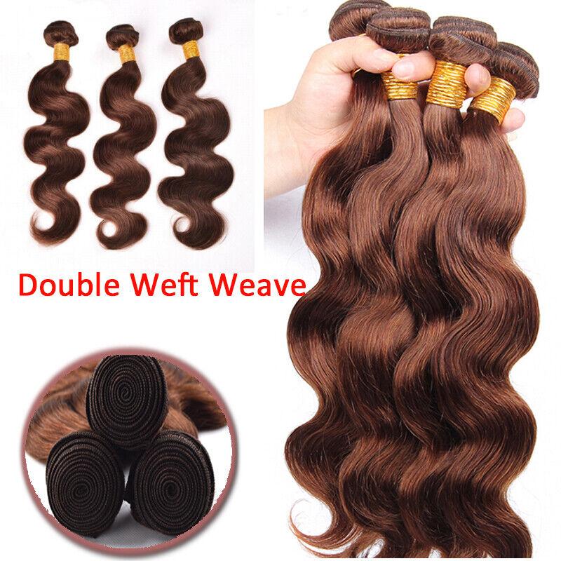 7a Brazilian Virgin Human Hair Extensions Weave Weft 3 Bundles Body Wave Ombre C