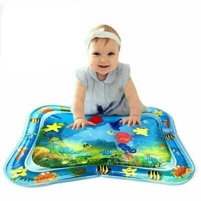 Inflatable Water Play Mat Infants Toddlers Fun Tummy Time Play Activity Center 2