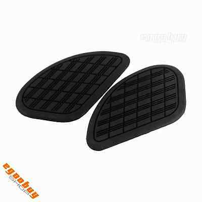 Motorcycle Artificial Leather Gas Tank Traction Side Pad Cafe Race QM125