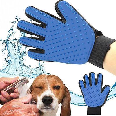 Pet Cat Dog Grooming Bath Magic Glove Hair Massage Mitt Fur Cleaning Comb Brush