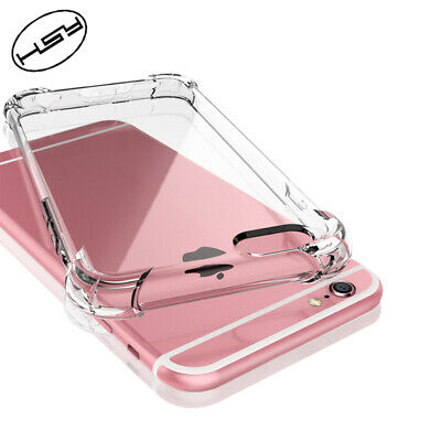 For iPhone Case XR 8 7 6 Plus XS Max Bumper Shockproof Silicone Protective Cover 3