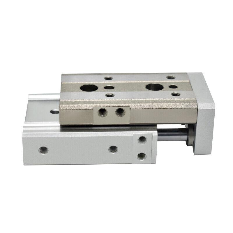 H● SMC MXQ16-125Z Pneumatic slide cylinder New 3