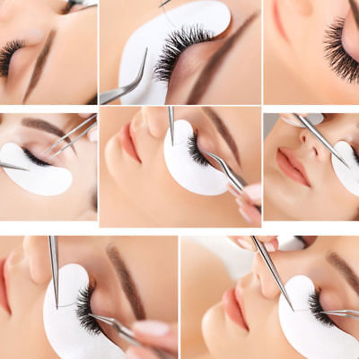Salon Eyelash Lash Extensions Under Eye Gel Pads Lint Free Patches Make Up tools