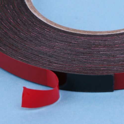 3-20mm 25m Double Sided Adhesive Tape Red Stickers For Mobile Phone LCD Screen 7