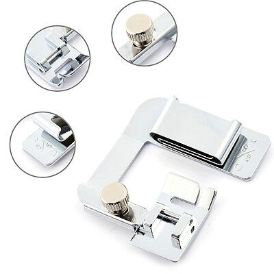 3pcs/Set Rolled Hem Foot Home Multi-functional Hemming Cloth Strip Presser Foot