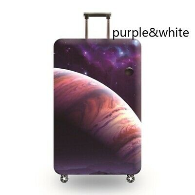 Travel Luggage Cover Galaxy Starry Elastic Anti-Scratch Suitcase Dust Protector 12