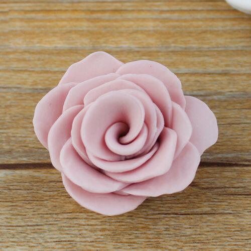 3 Pcs Moule Couper Gâteau Pétale Fleur Rose DIY Décoration Patisserie Biscuit NF 3
