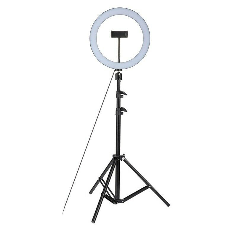 26CM Studio Live Led Ring Light For Phone Selfie Light Beauty Photograph+Triopd 3