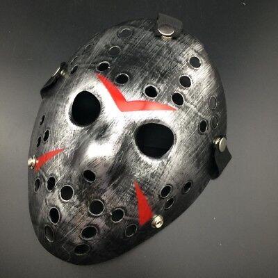 Friday The 13th Halloween Myers Jason VS. Freddy Costume Prop Horror Hockey Mask 2