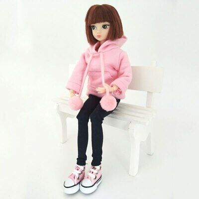 Fashion Doll Clothes Sweatshirt Coat For 11.5in. Doll Outfits Pants Shoes 1/6 5
