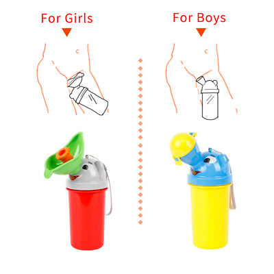 HOT Frog Kids Potty Toilet Training Baby Urinal for Boy Pee Trainer Bathroom New 8
