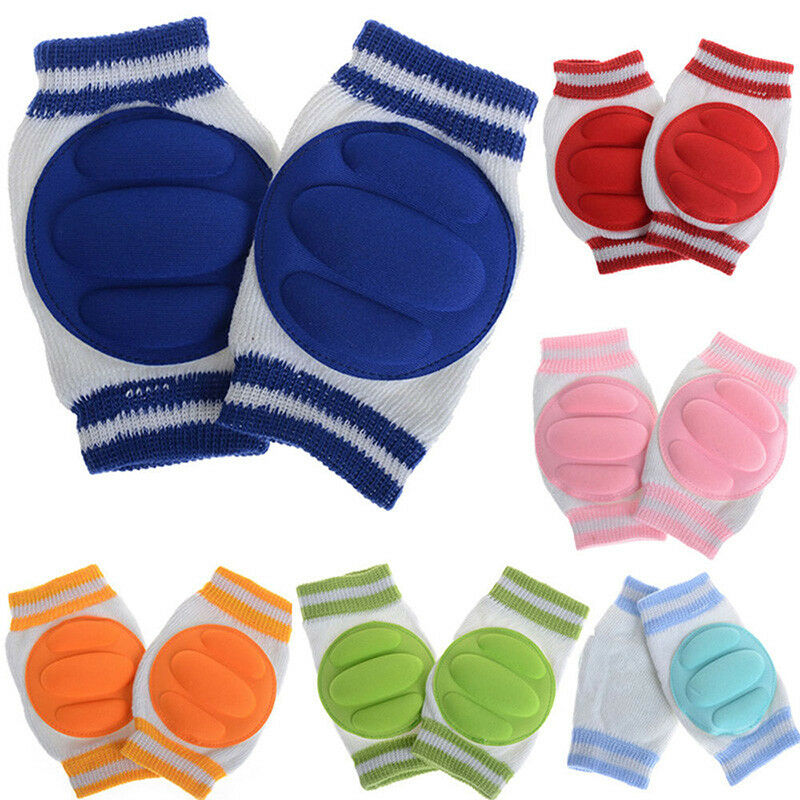 Newly Baby Kids Safety Crawling Elbow Cushion Infant Toddler Knee Pads Protector 5