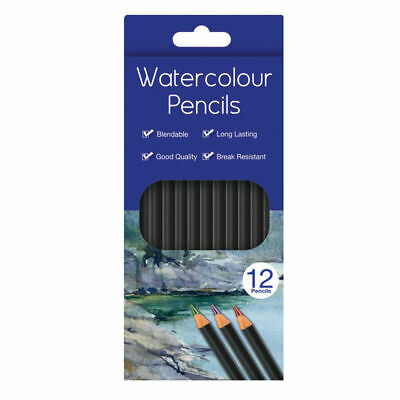 Water Colour Charcoal Sketching Pencils Drawing Set of School HB Artist Colour 4