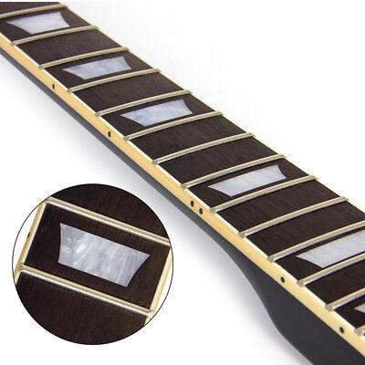 Electric Guitar Neck for Gibson Les Paul LP Maple 22 Fret Black 3