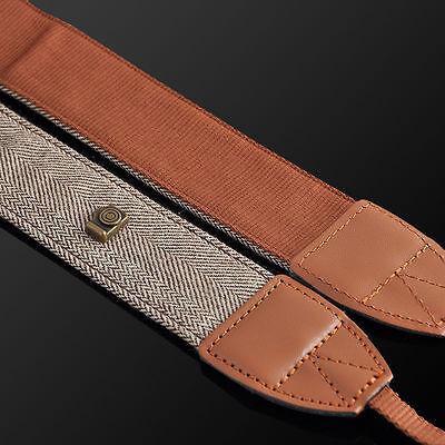 Hot Sale Camera Shoulder Neck Vintage Strap Belt for Sony Nikon Canon Camera vOI 6
