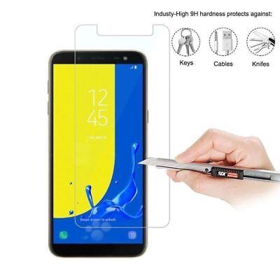 5X Tempered Glass Screen Protector For Samsung Galaxy J2 J3 J5 J7 J8 J6 J4 Plus 6