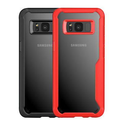 Samsung Galaxy Note 9/S8/S9/S10 Plus Clear Shockproof Mosafe® Bumper Case Cover 9
