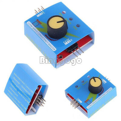 Multi Servo Tester 3CH ECS Consistency Speed Controler Power Channels CCPM 2