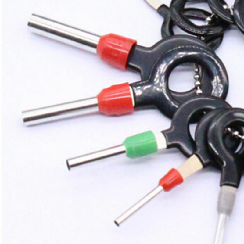 18X Wire Terminal Removal Tool Car Electrical Wiring Crimp Connector Pin Kit 6