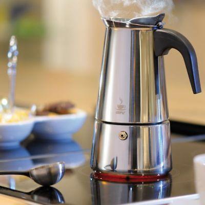 16140 Gefu Espressokocher Emilio Espresso-Kanne für 2 Tassen alle Herdarten