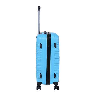 Reisekoffer xH003 Koffer Trolley Hartschalenkoffer Handgepäck 4Rollen M-L-XL-Set 11