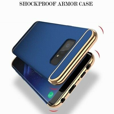 Fr Samsung Galaxy S7 S8 S9 S10 Plus Shockproof Hard Rugged Protective Case Cover 8